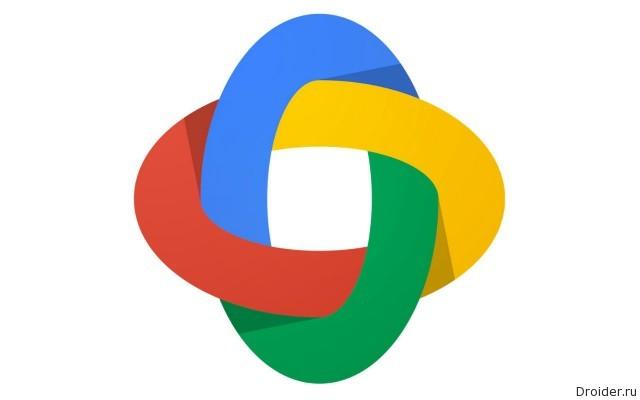 Фирменные цвета корпорации Google