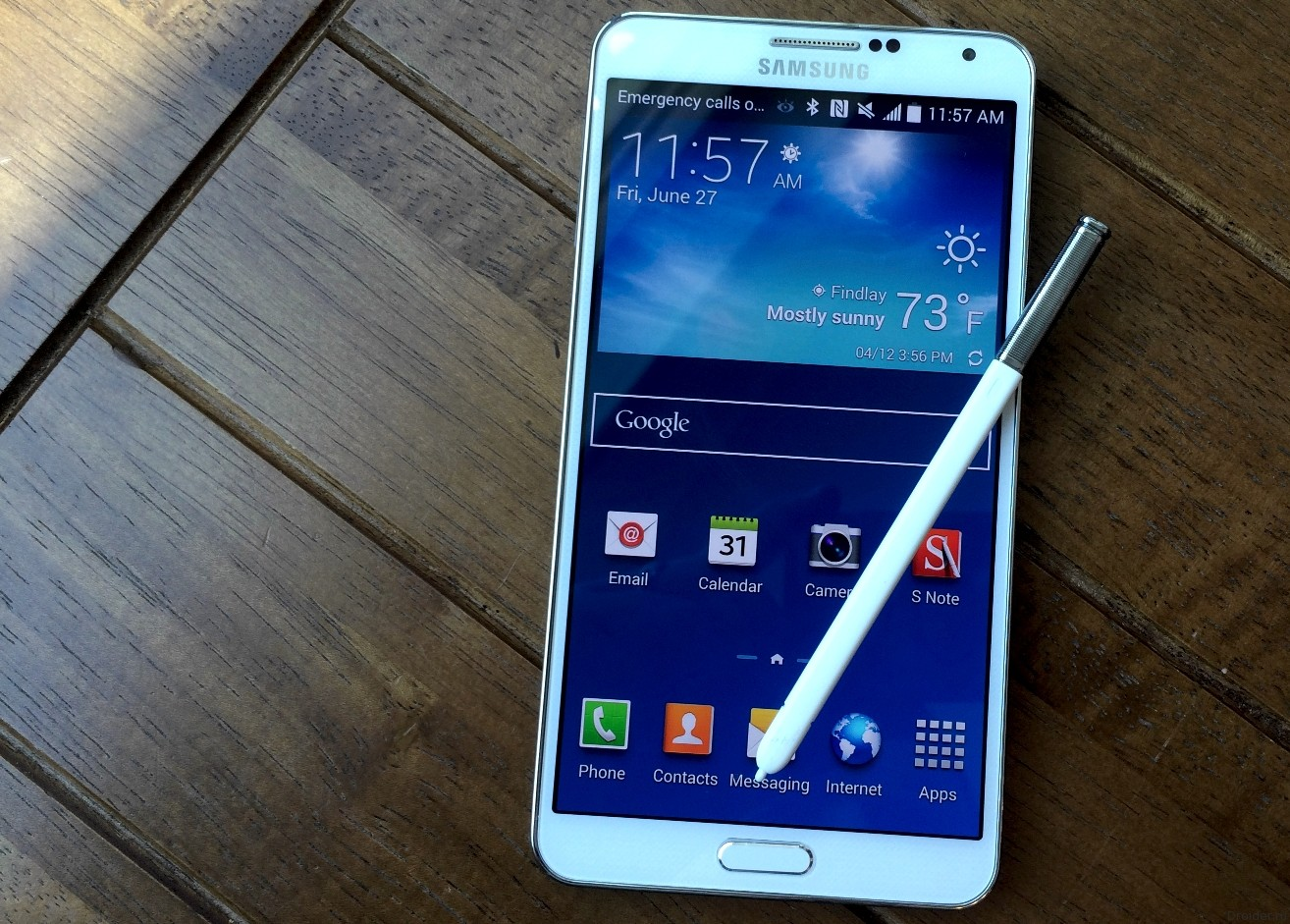 Смартфон Galaxy Note 4