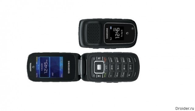 Смартфон-раскладушка Rugby 4 от Samsung
