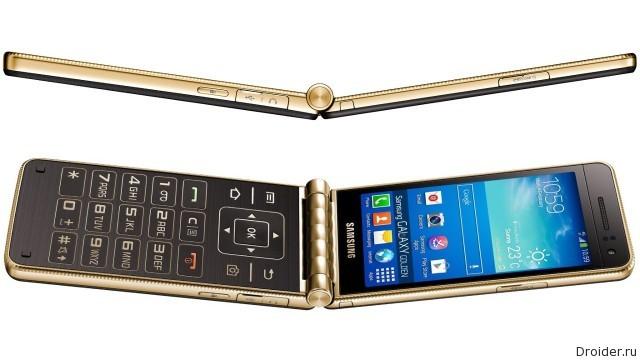 Смартфон Galaxy Golden от Samsung