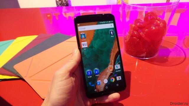 Смартфон Nexus 6 от Google