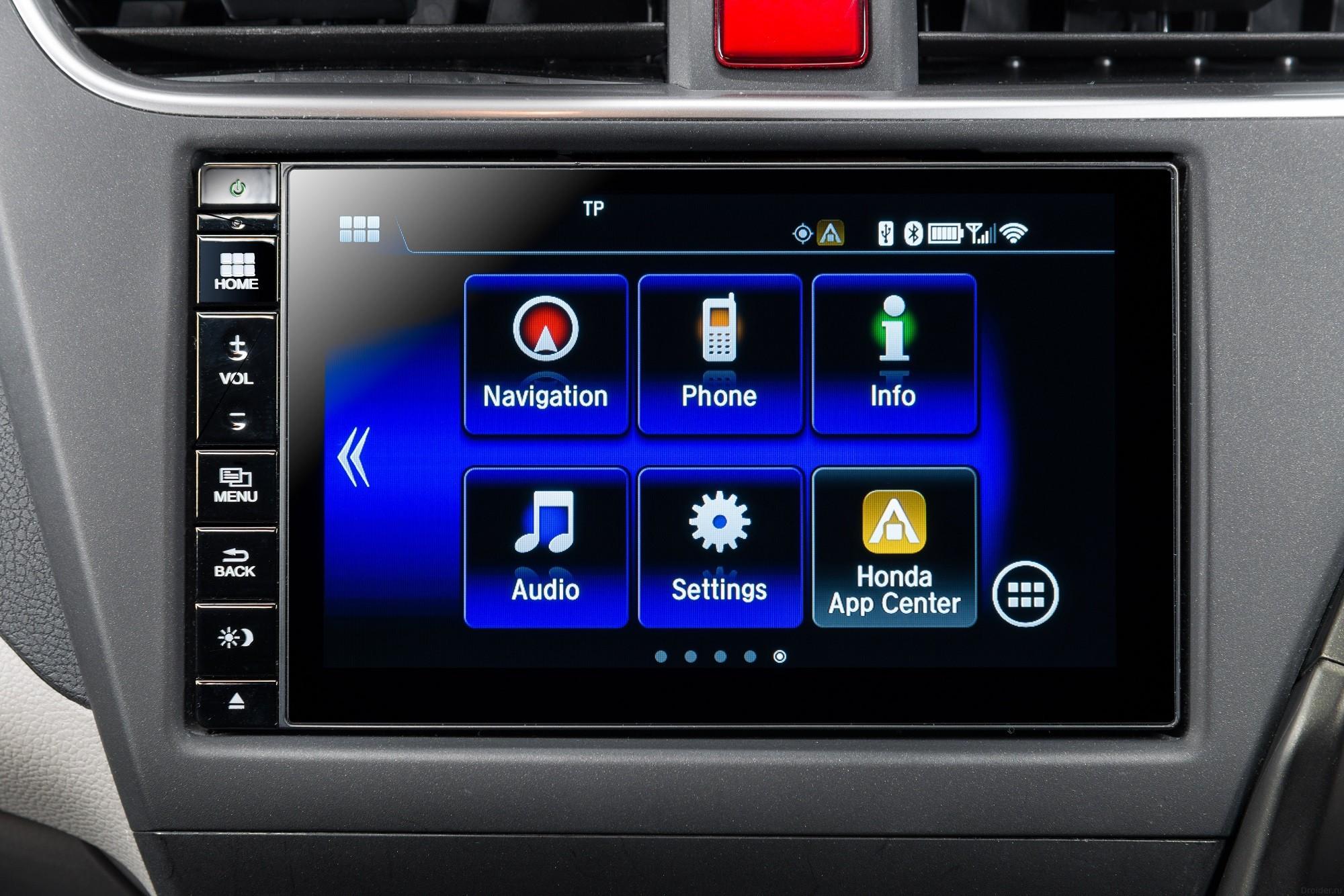 Система Honda Connect для авто на базе чипа Tegra и ОС Android