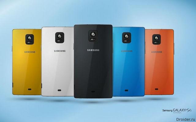 Концепт смартфона Galaxy S6 от Alexander Klepickiy