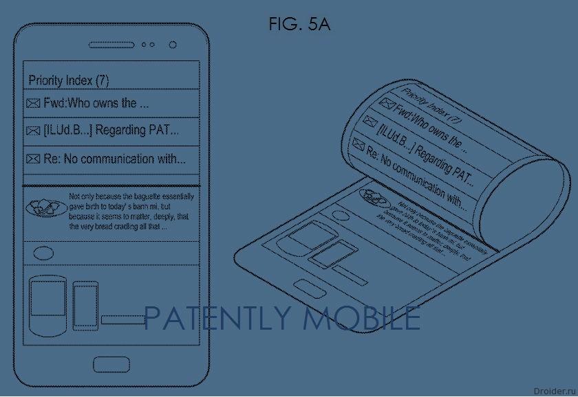 Патент Samsung