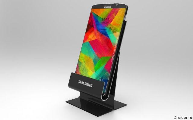 Концепт смартфона Galaxy S6 от Jermaine Smit