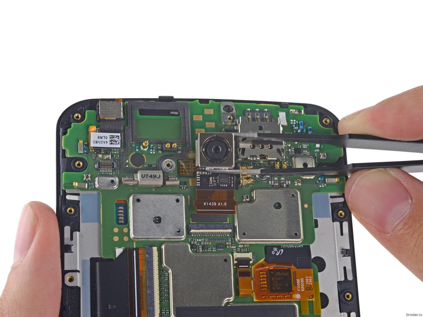 Nexus 6 и руки iFixit