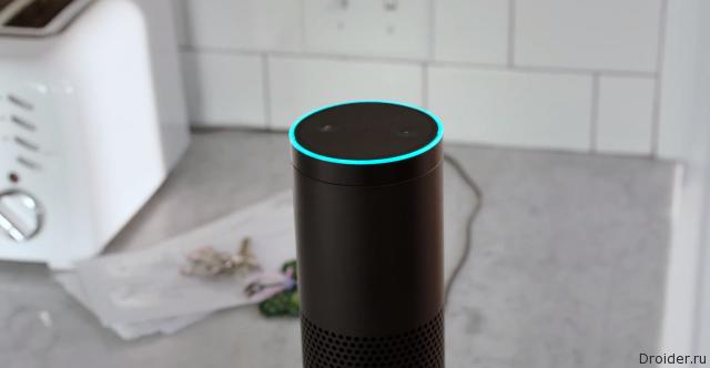 Колонка Amazon Echo