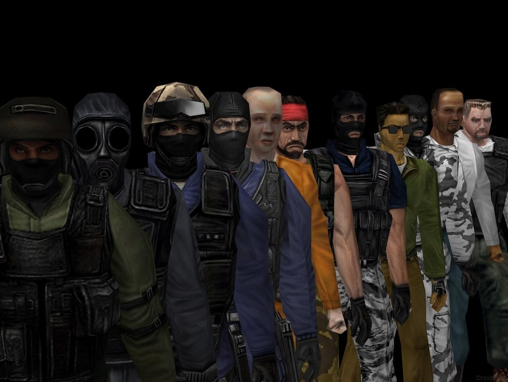 Персонажи Counter-Strike