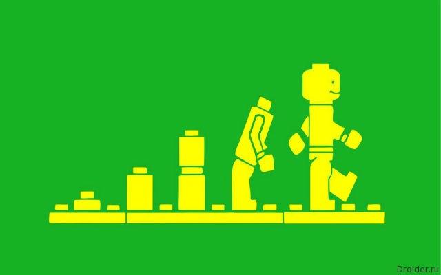 Эволюция LEGO