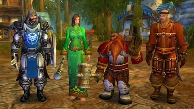 Персонажи World of Warcraft из мультсериала South park