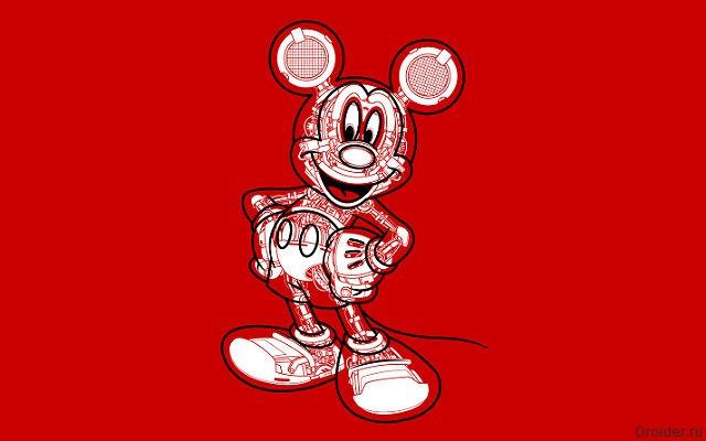 Робот Микки Маус