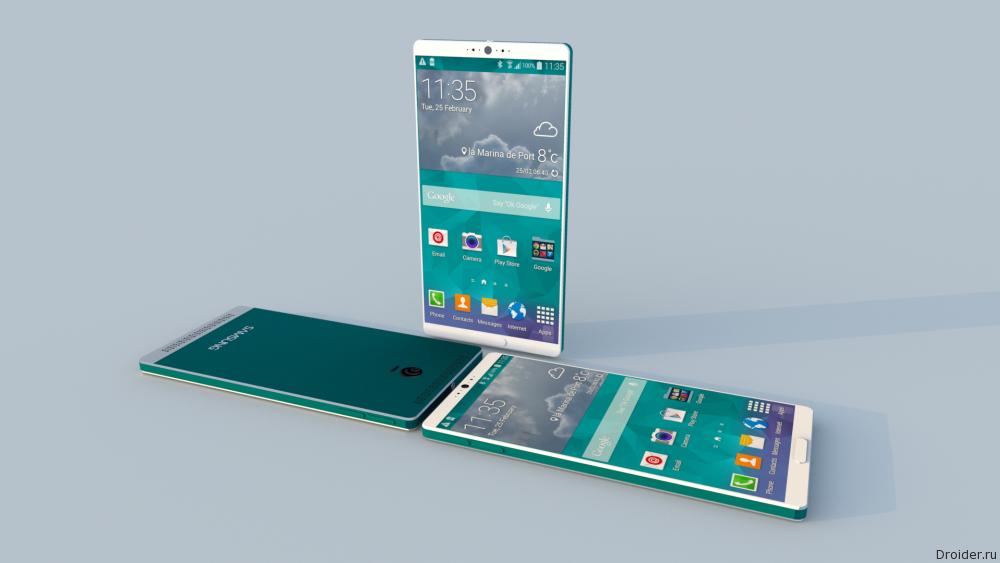 Концепт Samsung Galaxy S6.