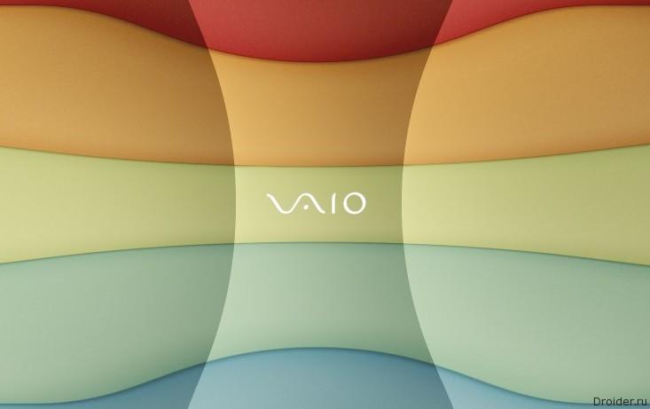 Логотип Vaio