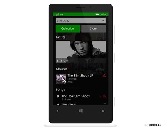Мобильная версия Windows 10