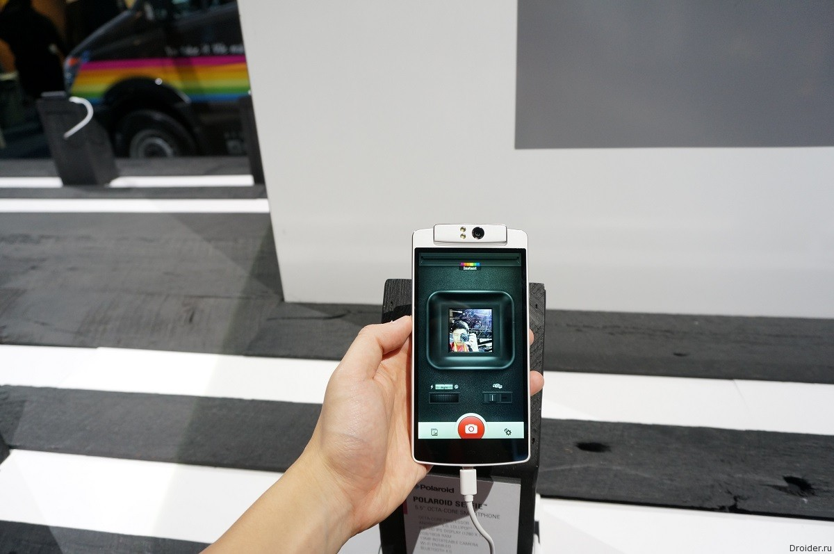 Polaroid Selfie