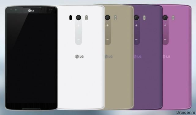 Концепт смартфона от LG