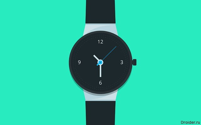 Проект механических часов с NFC-чипом