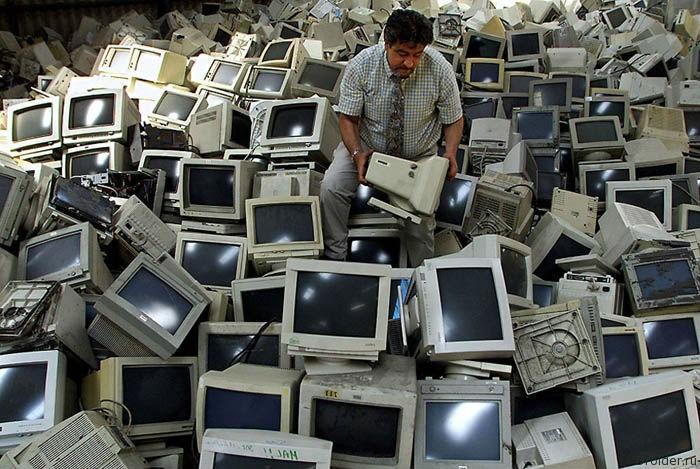 Свалка компьютеров