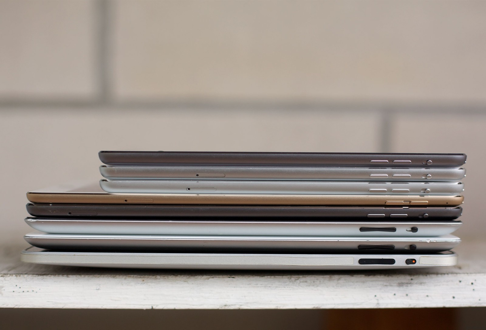 iPad разных поколений