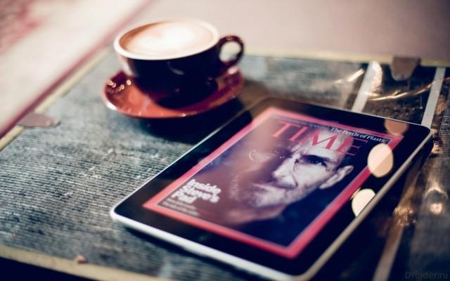 Стив Джобс, журнал Time и iPad