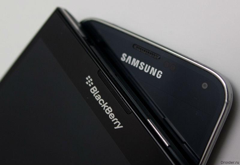 Samsung и Blackberry