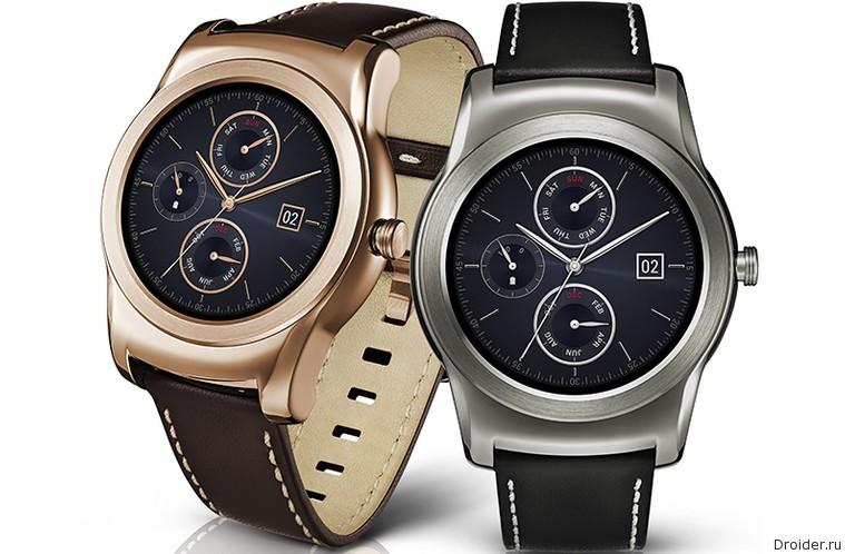 Смарт-часы Urban от LG