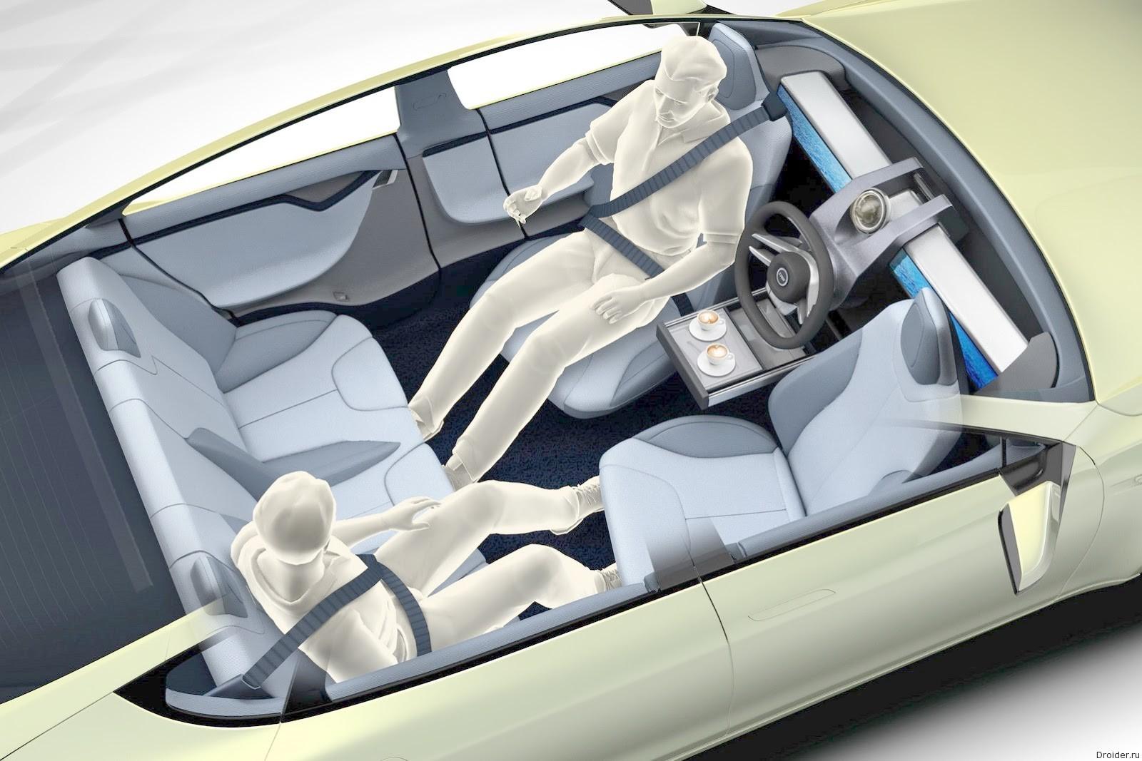 Концепт самоуправляемого автомобиля