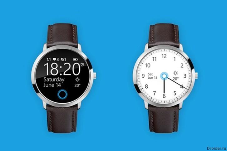 Концепт смарт-часов на Windows