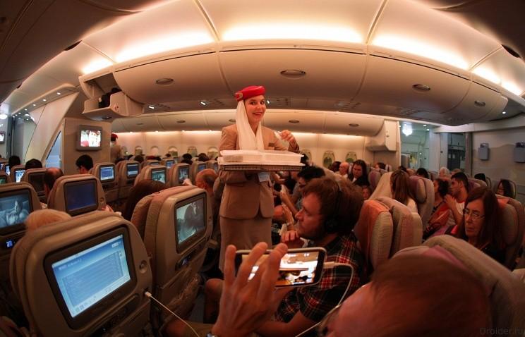 Смартфон в самолете