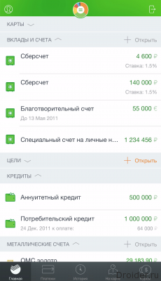 Сбербанк онлайн обзор 1
