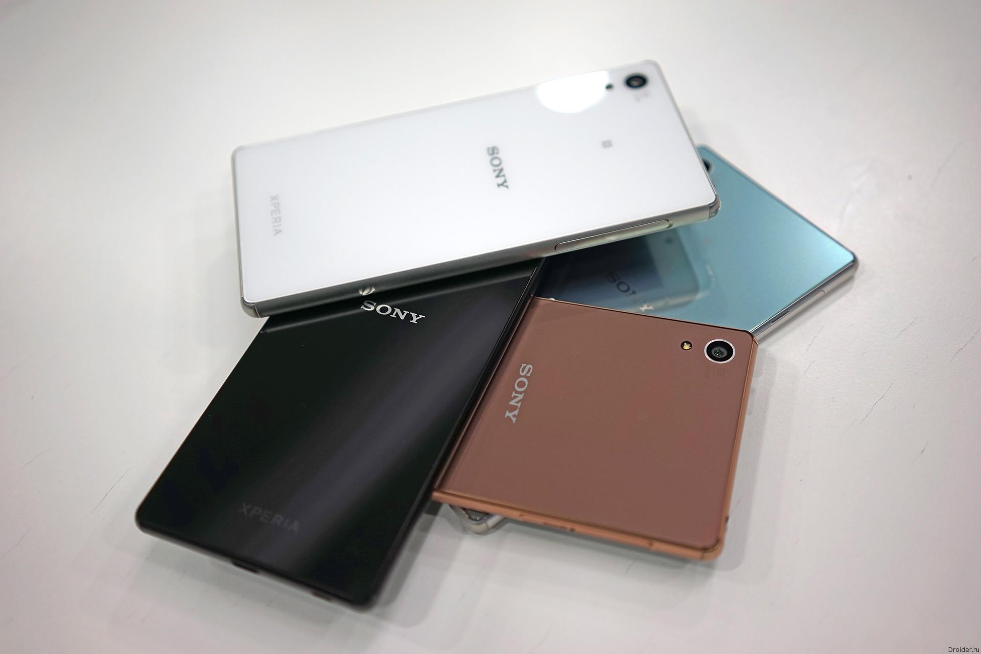 Xperia Z3+ (plus) от Sony