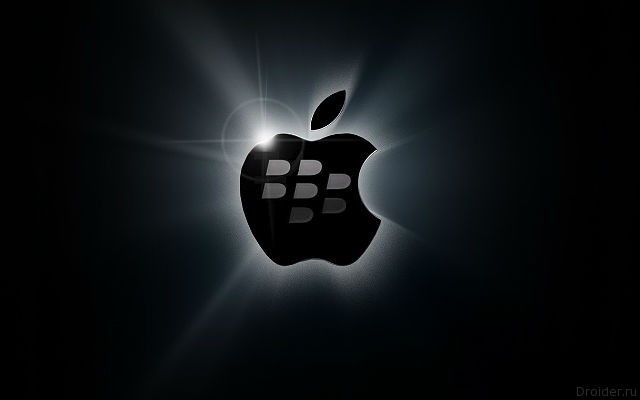 blackberry и apple