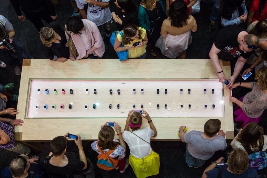 Apple Watch в России