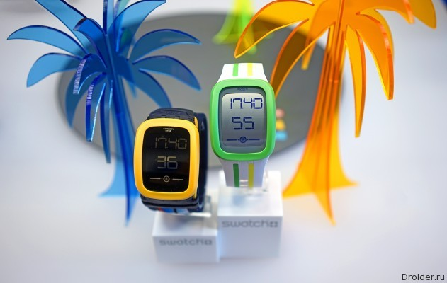 Обзор Swatch Touch Zero one 2