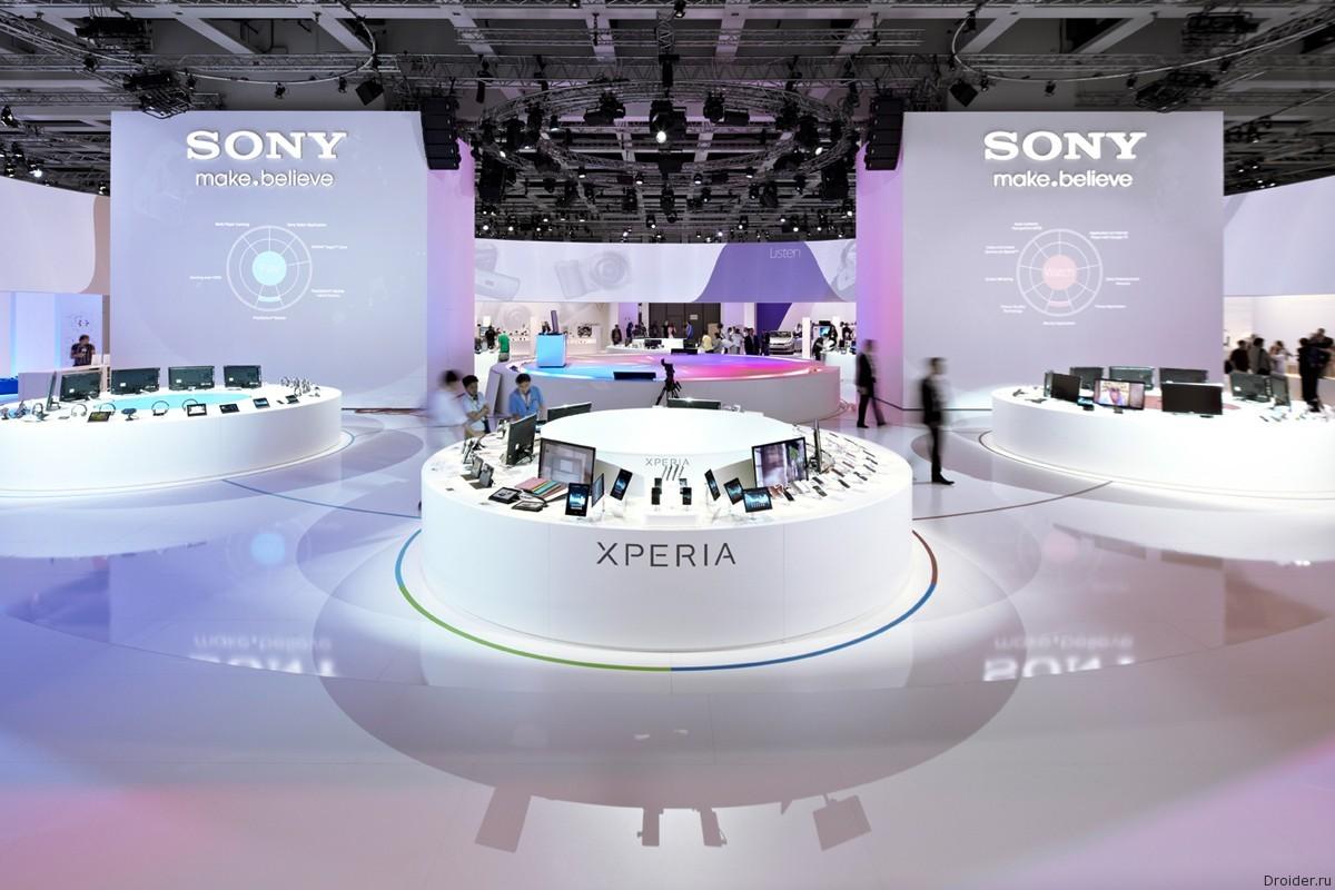 Стенд Sony на IFA