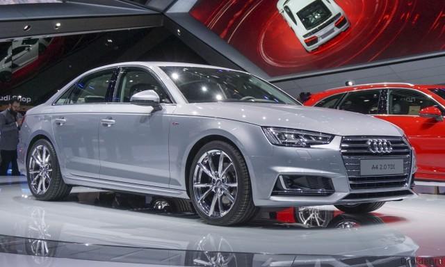 Audi A4 IAA 2015