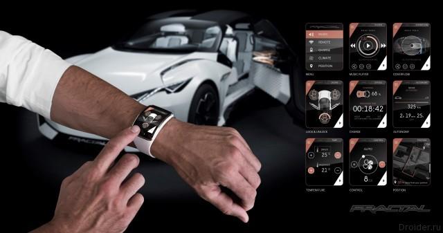 Peugeot Fractal concept IAA 2015