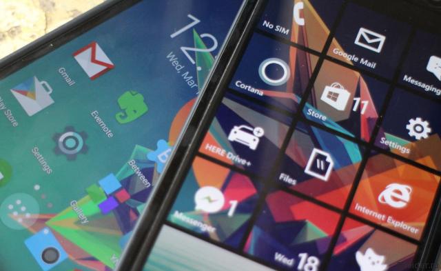 Android и Windows Phone