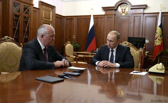 Чемезов и Путин