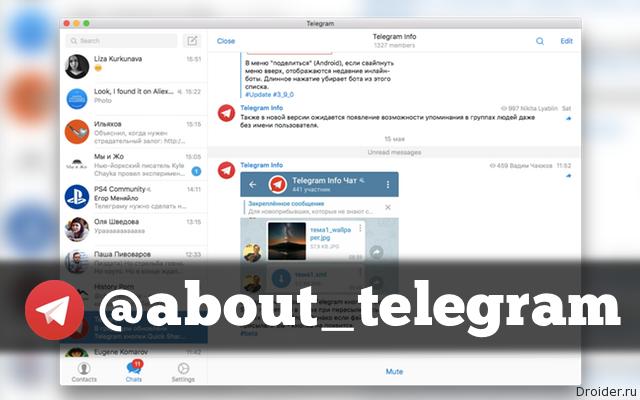 Telegram Info