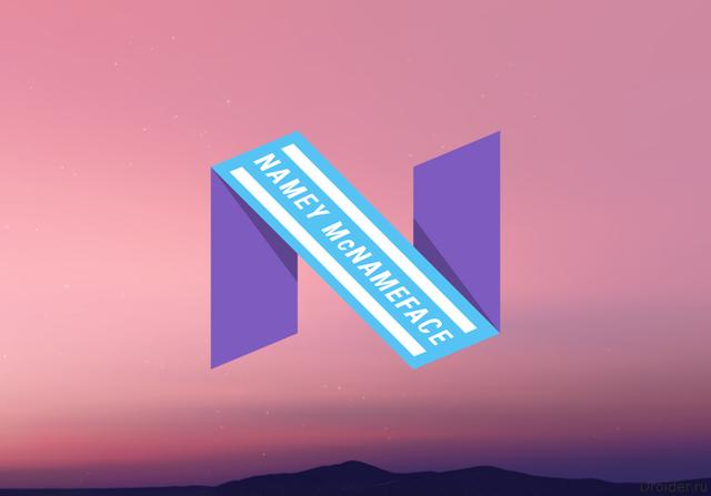 Пасхалка Android N