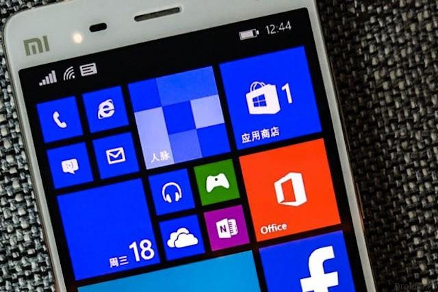 Mi Windows Phone