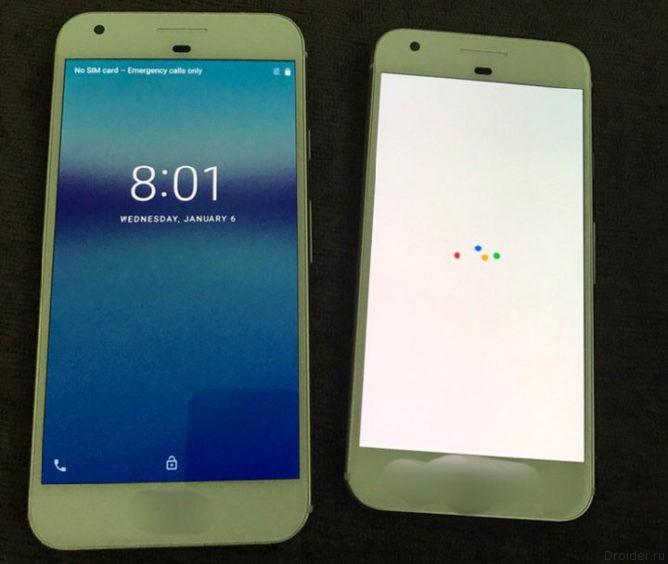 Перед Google Pixel