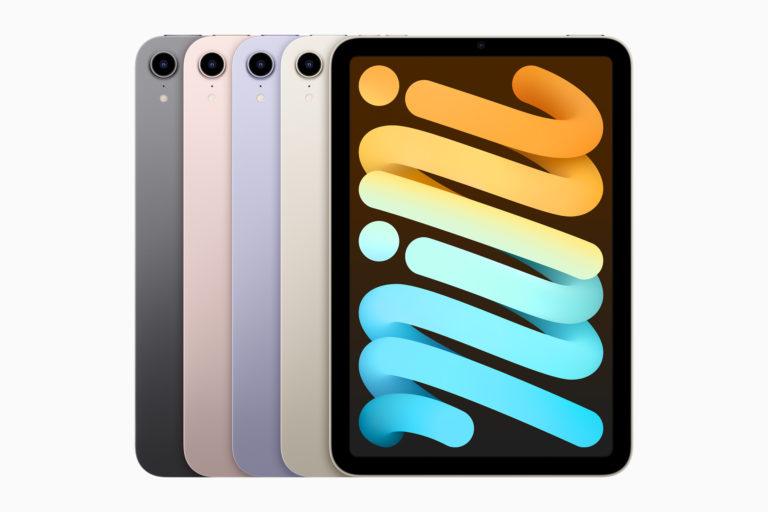 iPad mini получил полностью новый дизайн и поддержку Apple Pencil