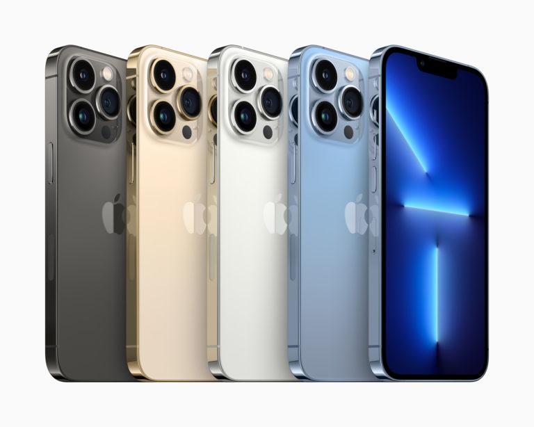 iPhone 13 Pro и iPhone 13 Pro Max: Много памяти, больше батареи, камеры лучше
