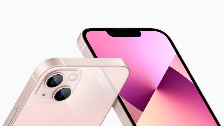 iPhone 13 и 13 mini: Обновлённая камера, мощный чип и скачок аккумулятора