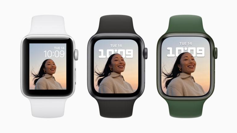 Apple открыла предзаказ на Apple Watch Series 7. В продаже с 15 октября