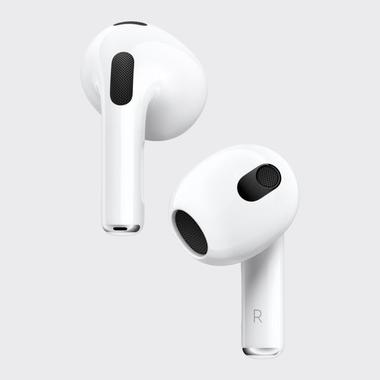 Apple представляет AirPods третьего поколения с поддержкой Spatial Audio