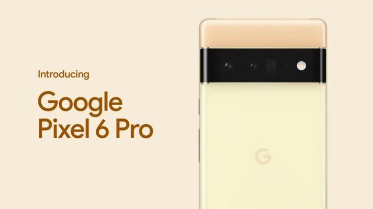 Pixel 6 и Pixel 6 Pro представлены официально…